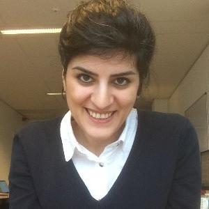 ESR5: photo of Golnaz Atefi